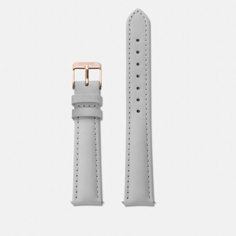 Cluse 16mm Watch Strap Grey/Rose Gold