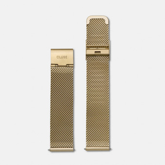 Cluse La Boheme Watch Strap Mesh Gold CS1401101009