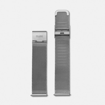 Cluse Minuit Strap Mesh Silver CS1401101028
