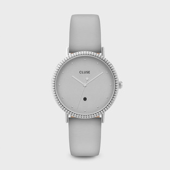 Cluse Le Couronnement Silver / Soft Grey Watch CL63004