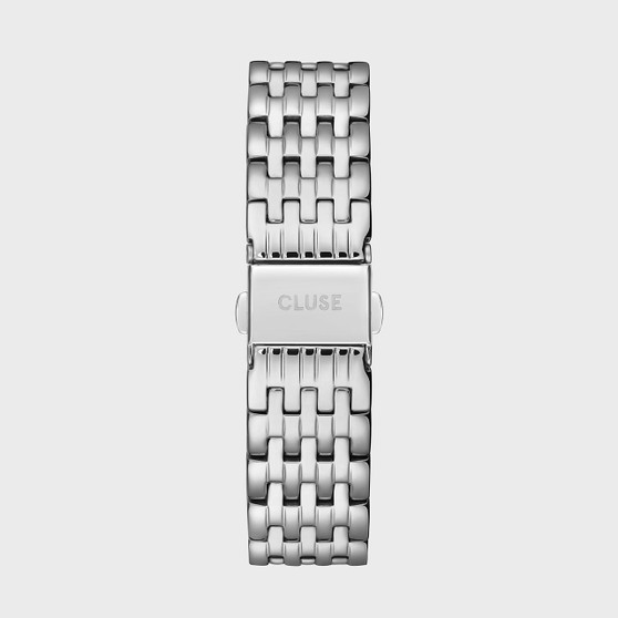 Cluse 18mm Watch Strap Silver Link CS1401101078