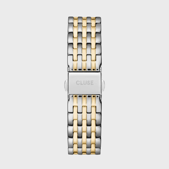 Cluse 18mm Watch Strap Gold Silver Two Tone CS1401101081