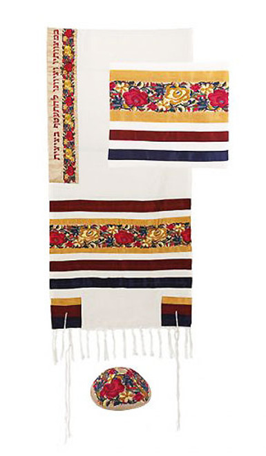 Tallit - Jewish Prayer Shawl - Tzitzit