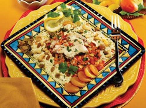 MOROCCAN CHICKEN COUS COUS