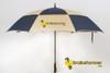 'Legend' Golf Umbrella - blue/tan