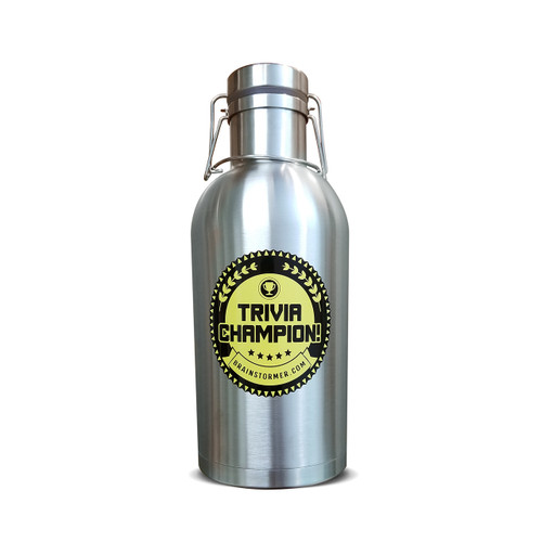 Brainstormer 64oz SS Growler