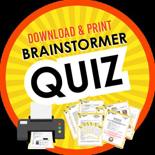 Brainstormer Download Quiz