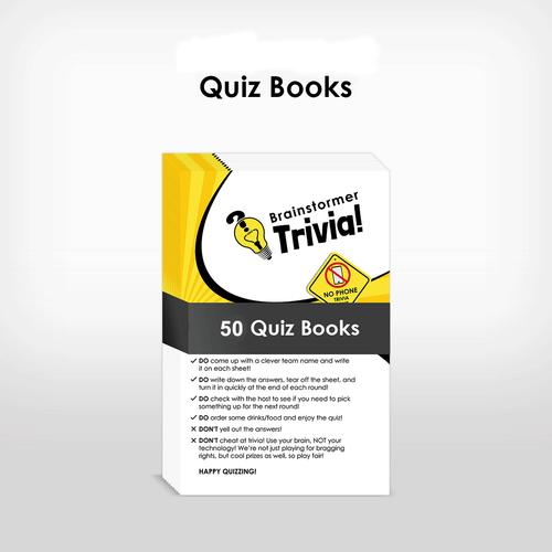 Official Brainstormer Quiz Books