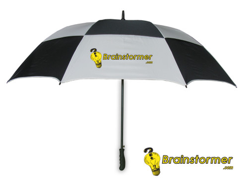 'Legend' Golf Umbrella - black/white