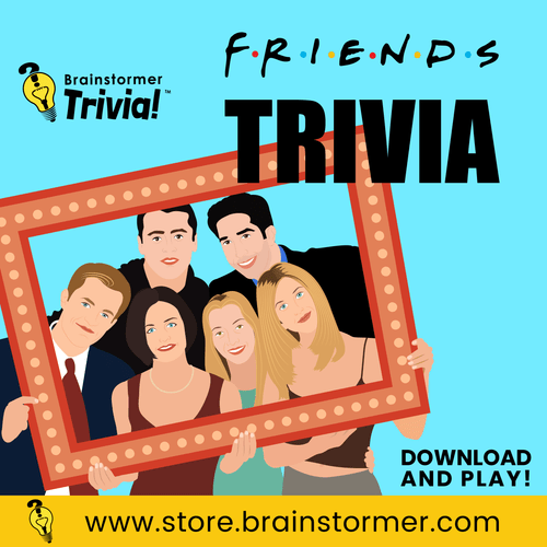 FRIENDS Trivia Quiz Questions
