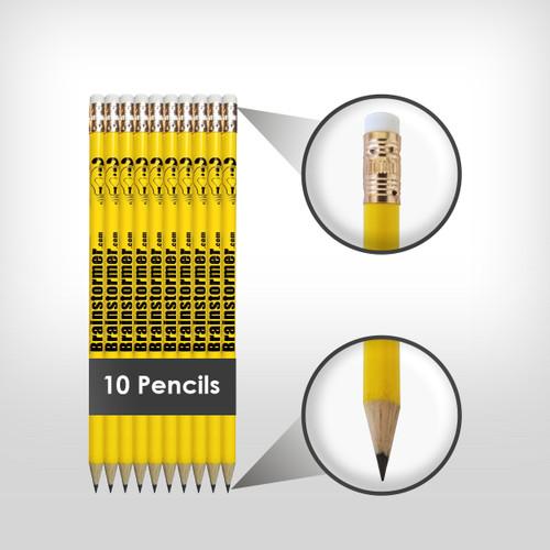 Brainstormer Trivia pencils