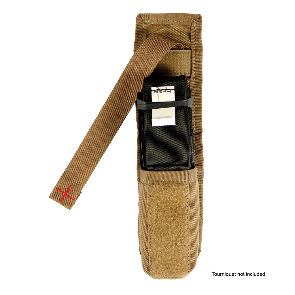 Tourniquet Pouch  - Coyote - Pulled