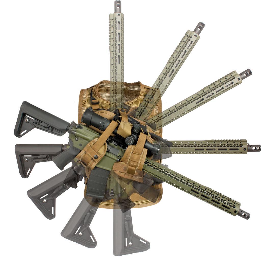 Elite Retention System - Multiple safe locking positions