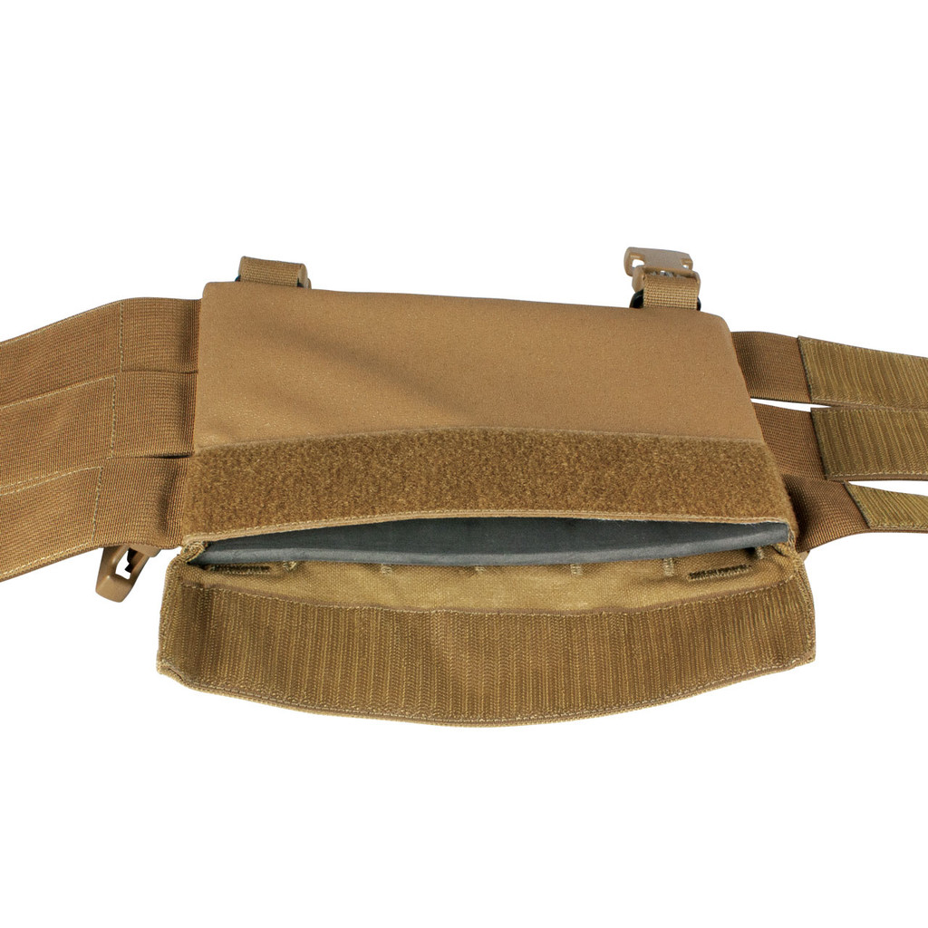 LBE Harness - Trauma plate sleeve- Coyote