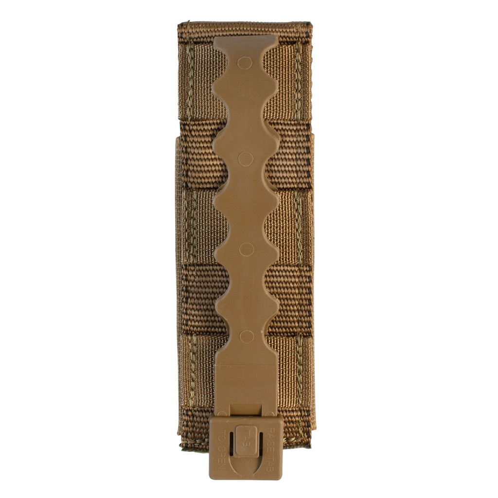 Single Pistol Mag Pouch Back - Coyote