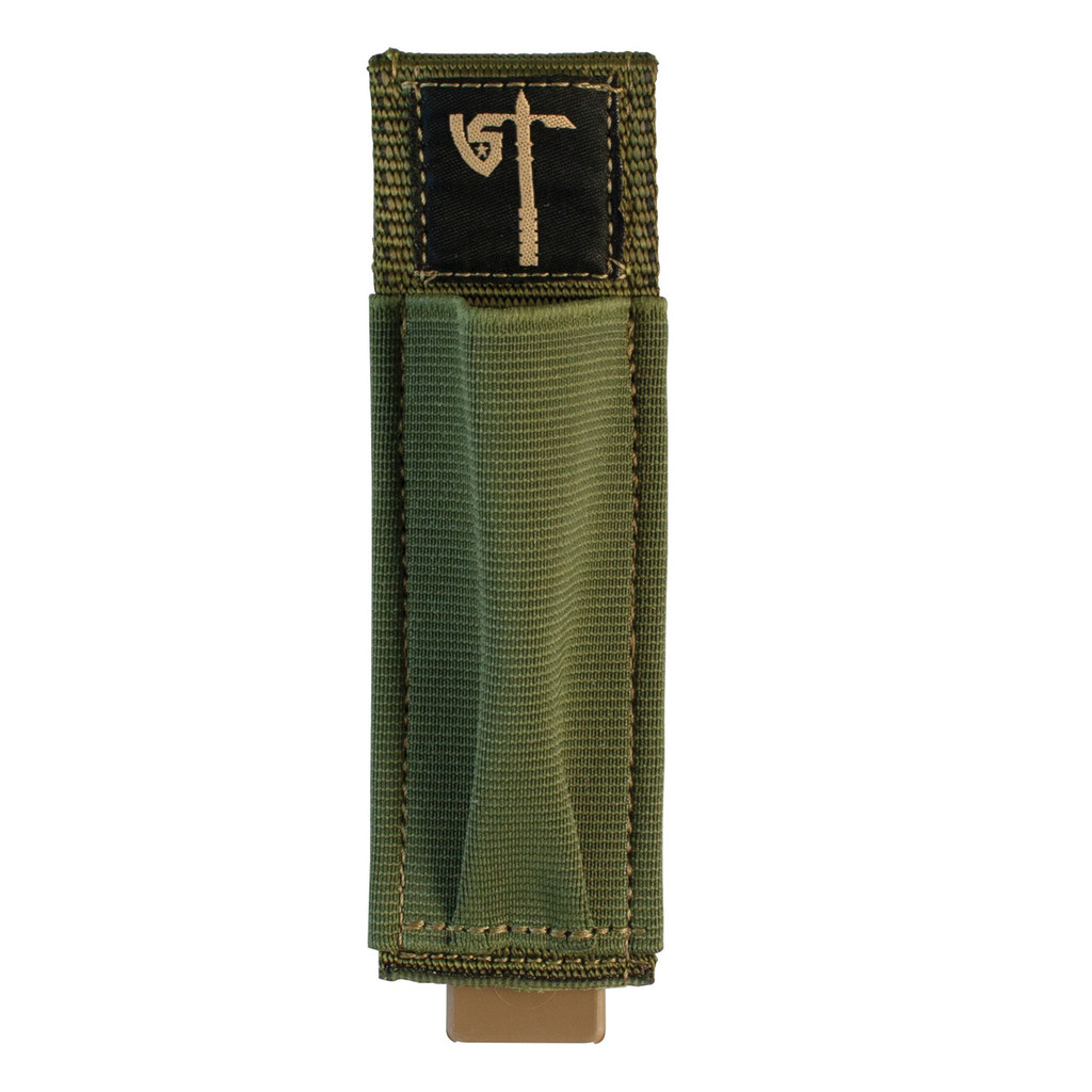 Single Pistol Mag Pouch Front - Olive Drab