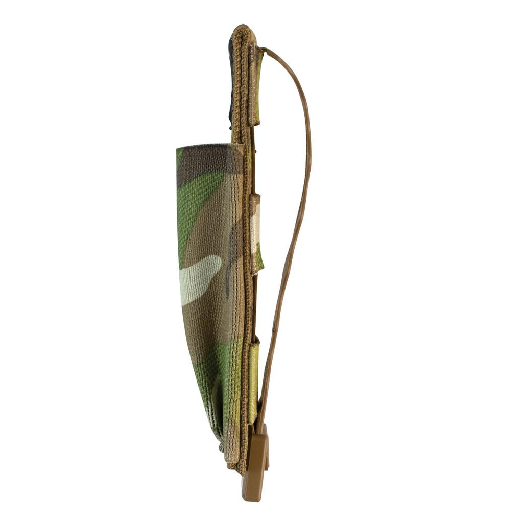 Single Pistol Mag Pouch Side - MultiCam