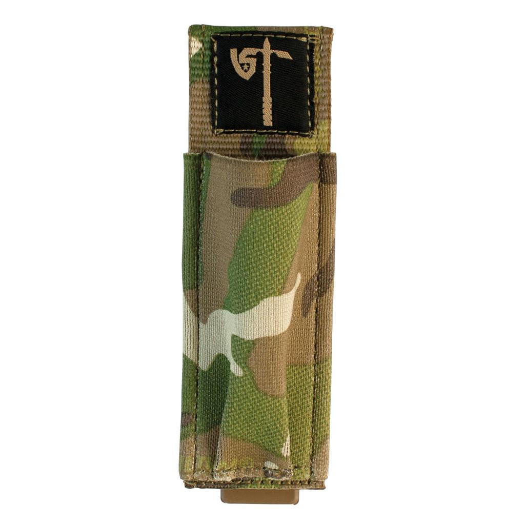 Single Pistol Mag Pouch Front - MultiCam