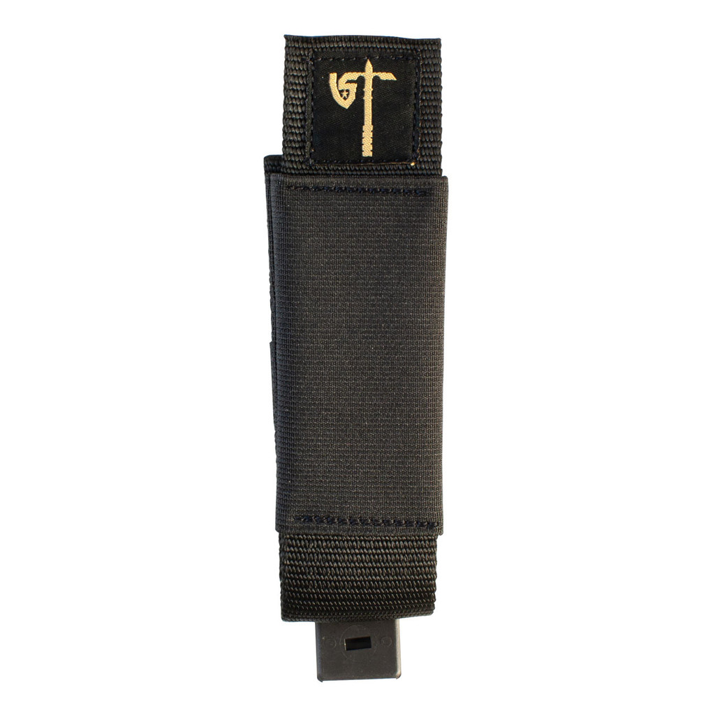 Single MP5 Mag Pouch Front - Black