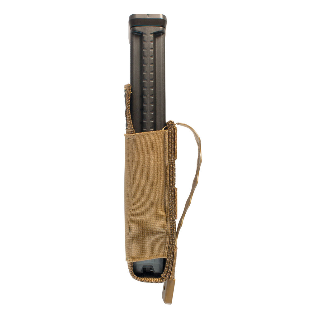 Single MP5 Mag Pouch Side Loaded - Coyote