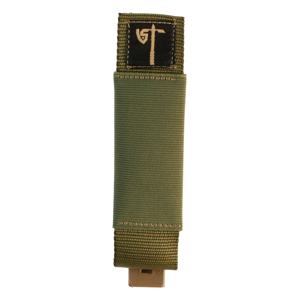 Single MP5 Mag Pouch Front - Olive Drab