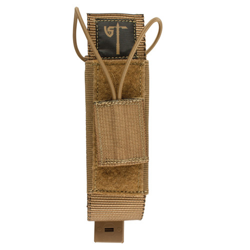Radio Pouch - Front - Coyote