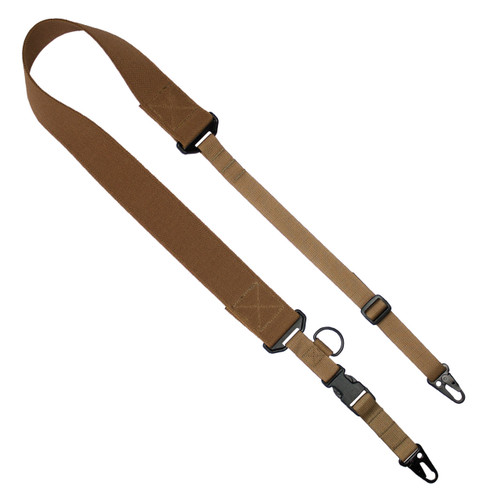 C2: 2-to-1 Point Tactical Sling - Coyote -2-Point- QH