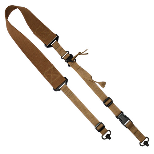 D1: 2-to-1 Point Rapid Fit Sling QD- Coyote