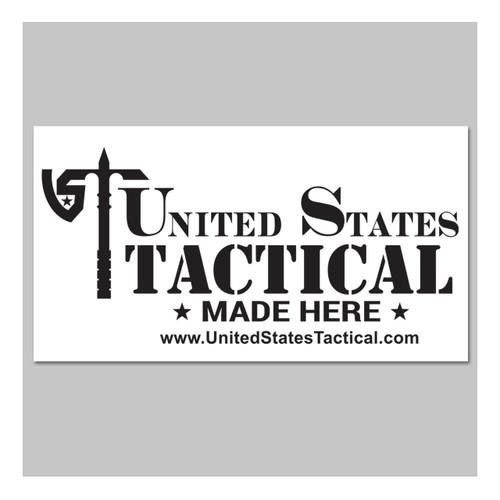 United States Tactical - Nested Logo Sticker