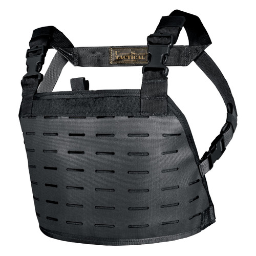 Reversible Chest Rig - MOLLE panel - Black