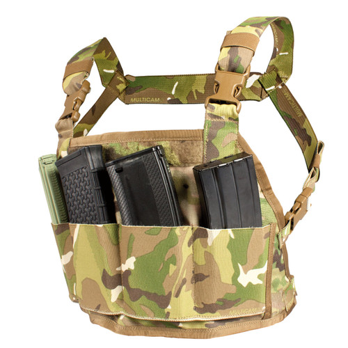 Reversible Chest Rig - Mag panel - MultiCam
