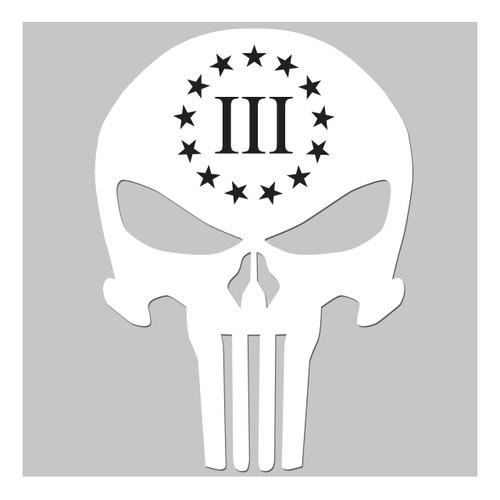 3 Percenter Skull