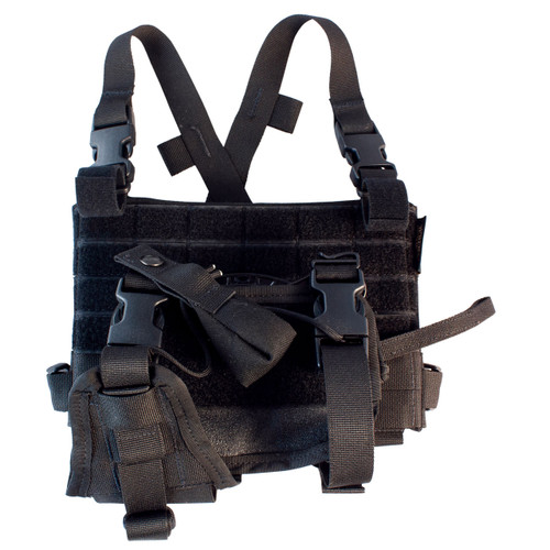 LBE Harness w/Elite Retention System - Black