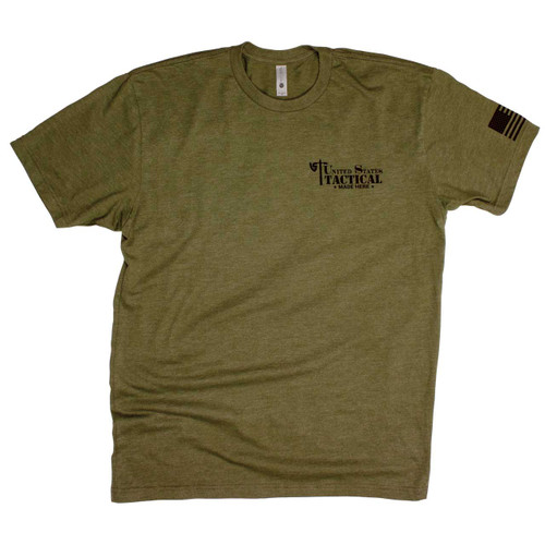 UST Made Here T-Shirt - Olive Drab - Front