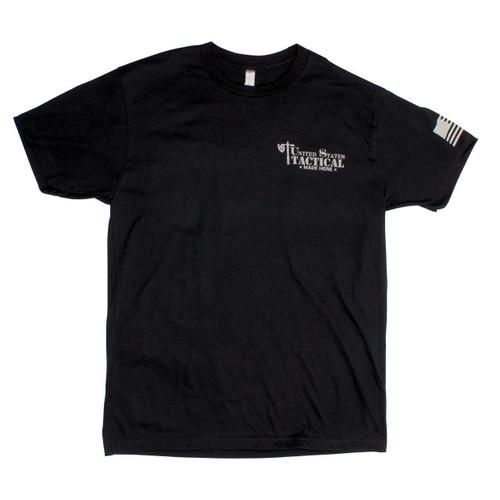 UST Made Here T-Shirt - Black - Front