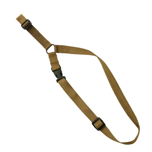 S1: Single-Point Tactical Sling - Open Ended - Coyote