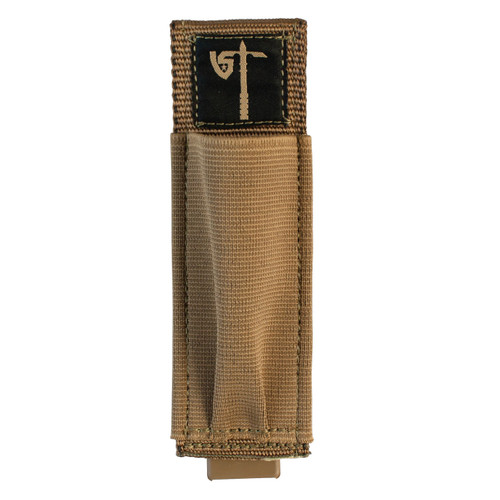 Single Pistol Mag Pouch Front - Coyote