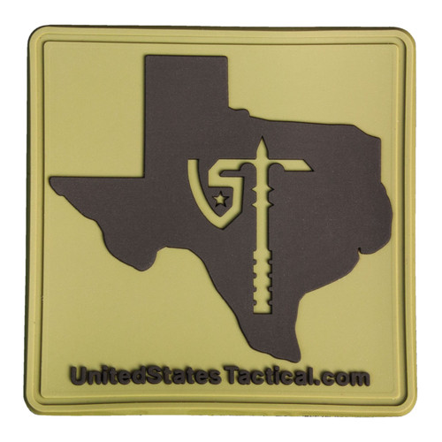 Tactical Patch - Square - Texas with UST Axe Logo