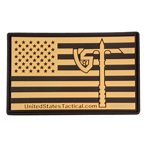Tactical Patch - US Flag with UST Axe