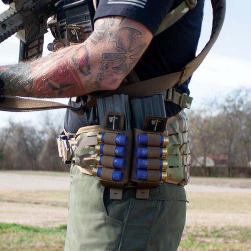 Double Mag Shotgun Pouch - Coyote