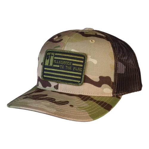 Cap - Style 862 CAMO-Multi_CAP_Allegiance To The Flag