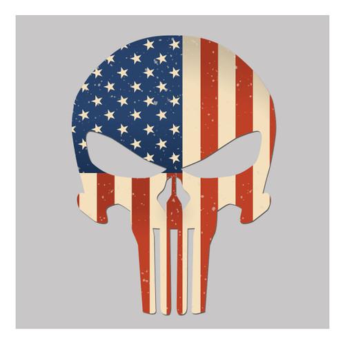 USA Flag Skull