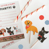 24 Dog Cupcake Toppers & Wrappers