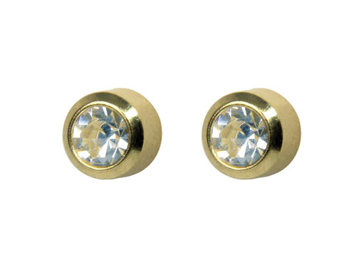 Large Crystal Bezel Stud GP