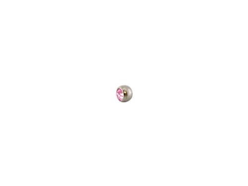 Nose Piercer Wedge Titanium Lt Pink