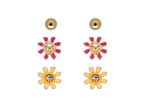 Floral Enamel Set GP