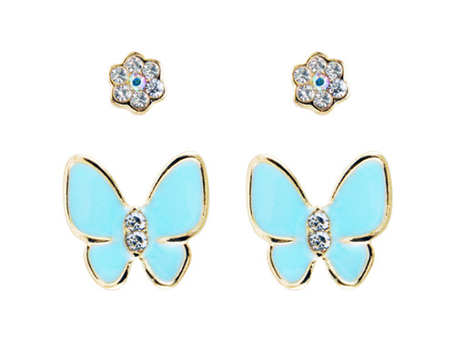 Butterfly Enamel Set GP