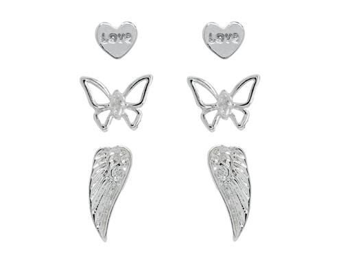 Angel Set Rhodium