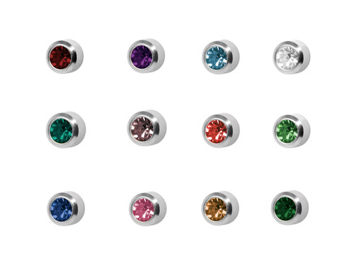 Uncarded Asst Mini Studs S/S/S (Order in Multiples of 12 Only)