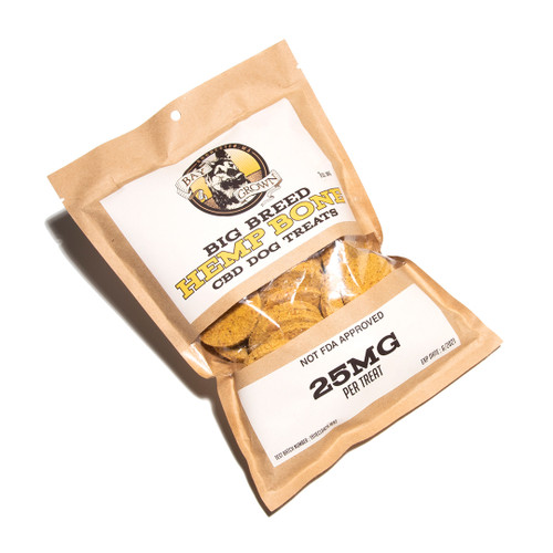 Hemp bone CBD treats for big breed animals